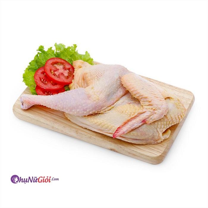Nguyên liệu nấu cháo gà truyền thống thơm ngon