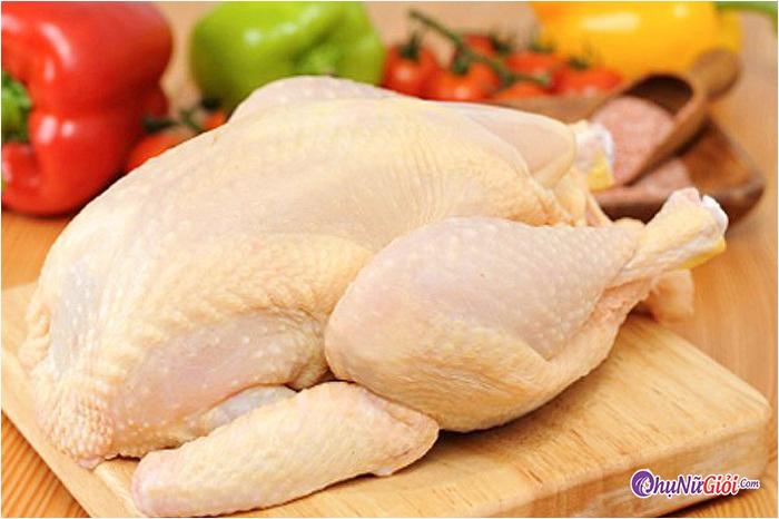 nguyên liệu nấu gà rang gừng nghệ