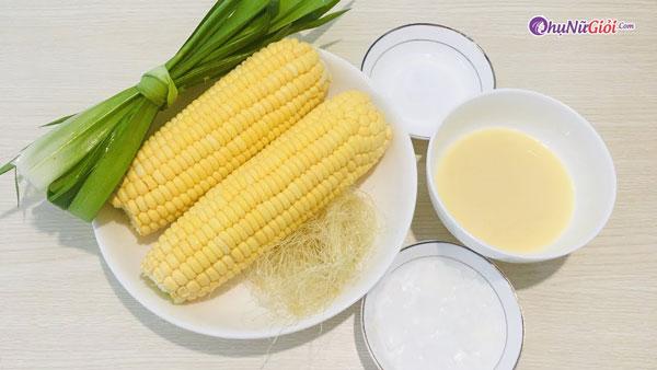 nguyên liệu nấu sữa ngô