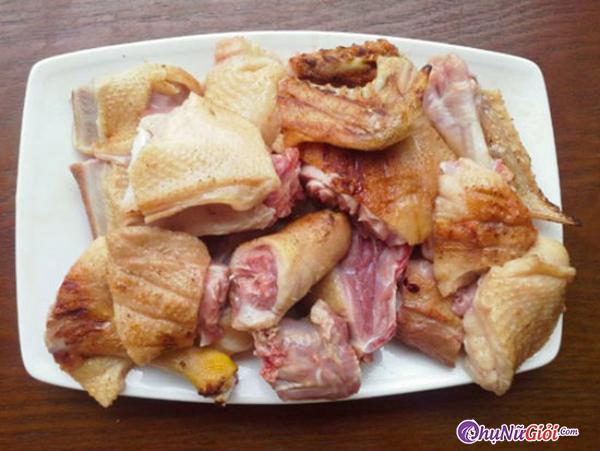 sơ chế thịt vịt