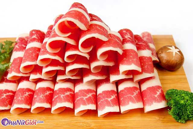 Thịt bò nhúng giấm
