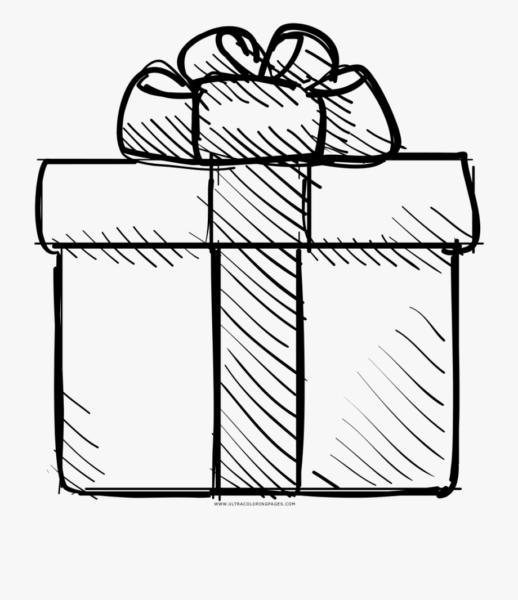 Tranh tô màu hộp quà hình vuông
