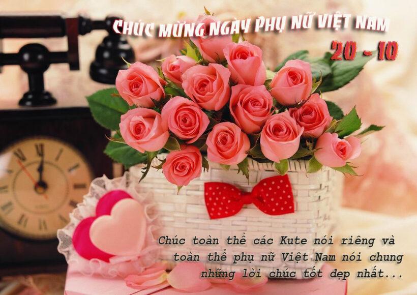 ảnh 20 10 đẹp hoa hồng