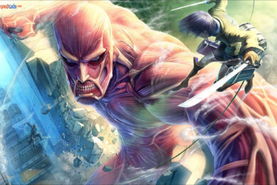 ảnh attack on titan