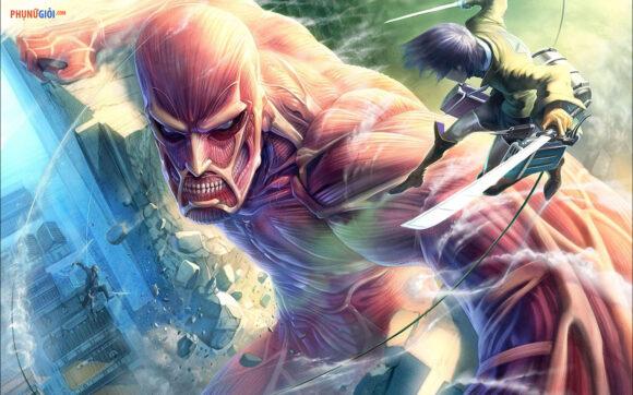 ảnh attack on titan