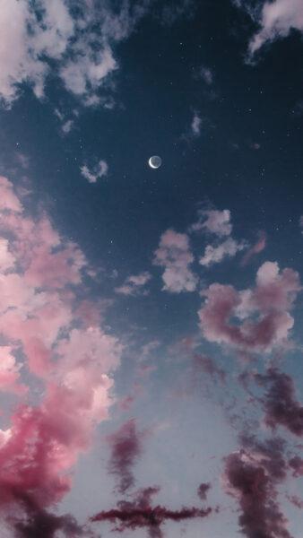 ảnh bầu trời - trăng và sao