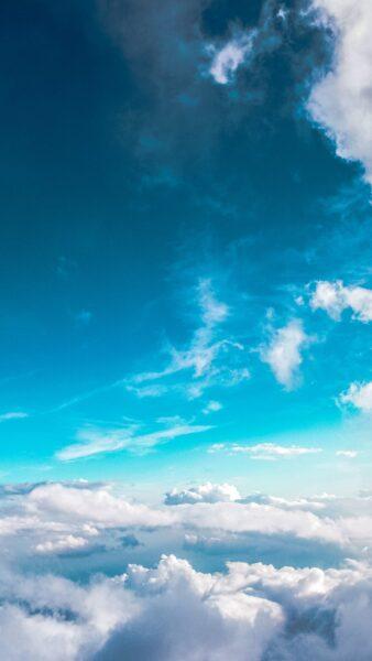 ảnh bầu trời trên chín tầng mây