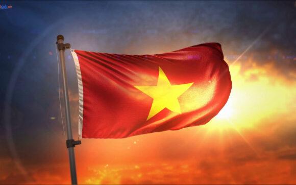 ảnh cờ đỏ sao vàng