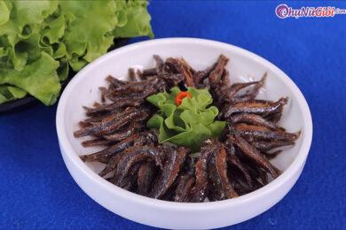 cá cơm kho