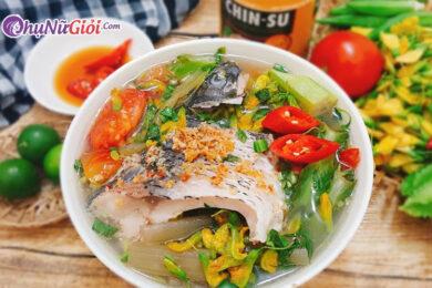 cách làm canh cá nấu dưa