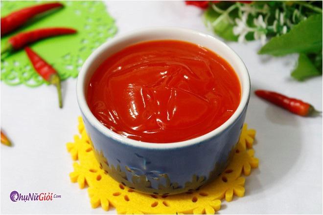 Cách làm tương ớt chua ngọt