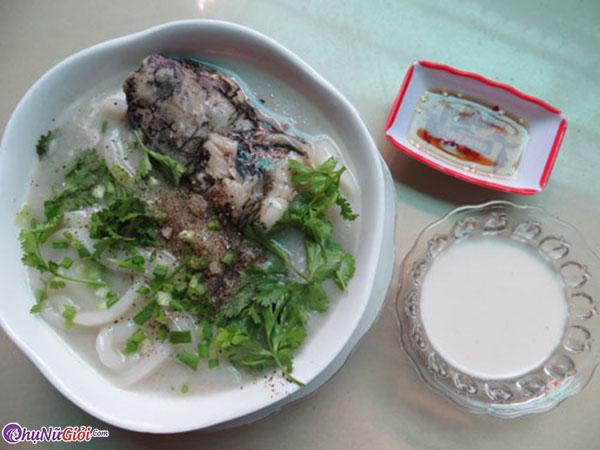 cách nấu bánh canh cá lóc nước cốt dừa miền tây