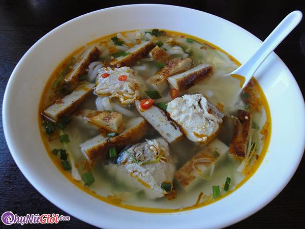 cách nấu bánh canh chả cá Nha Trang