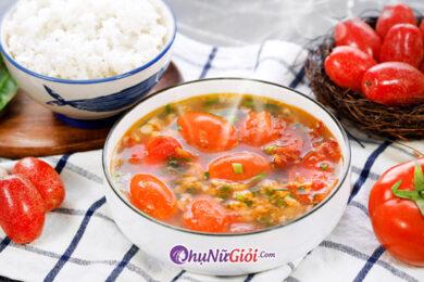 cách nấu canh chua thịt băm