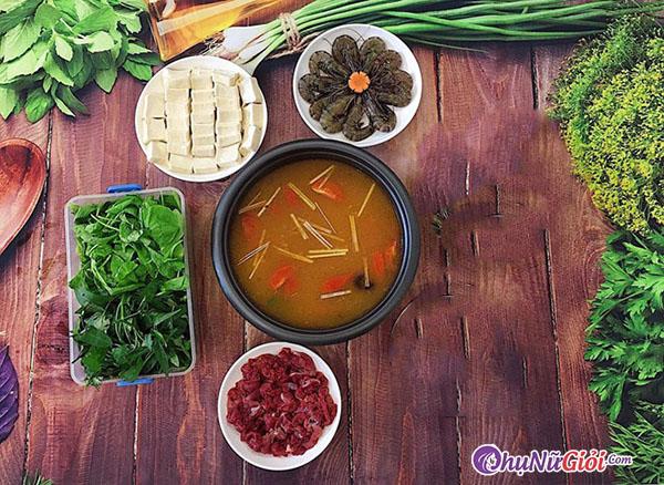 cách nấu lẩu thái chua cay