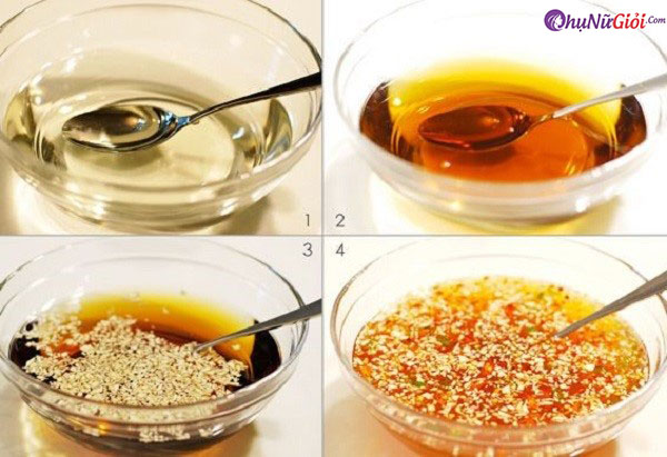 cách pha nước chấm nem rán tỏi ớt