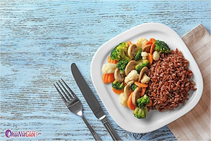 Cảm nhận về món cơm gạo lứt
