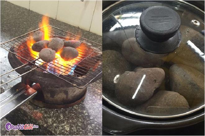 Chế biến làm bạch tuộc nướng đá