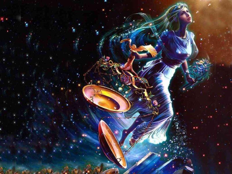 hình ảnh cung thiên bình 3d đẹp