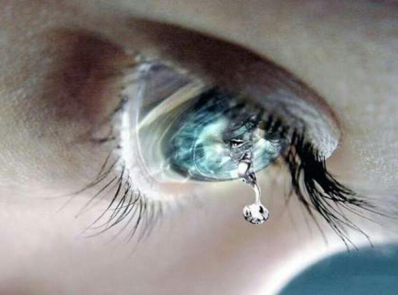 hình ảnh nước mắt rơi nghệ thuật