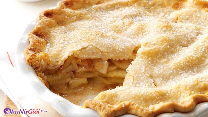 Hoàn thành Bánh táo thơm ngon chuẩn vị