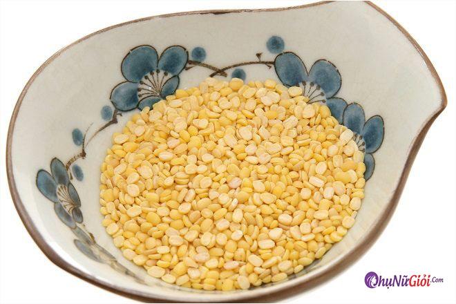 Nguyên liệu nấu cháo nghêu đậu xanh