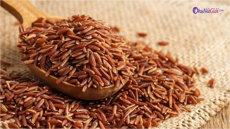 Nguyên liệu nấu cơm gạo lứt truyền thống