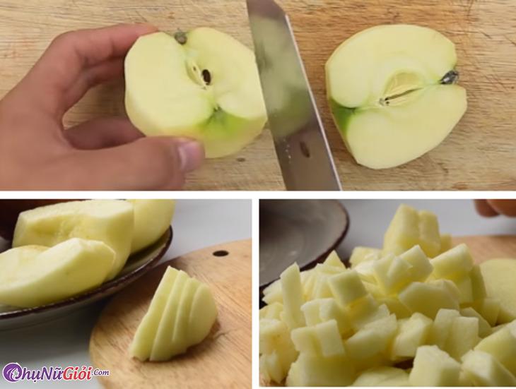 Sơ chế táo