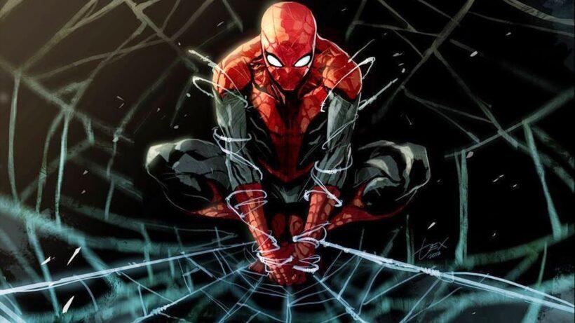 tranh vẽ hình ảnh người nhện