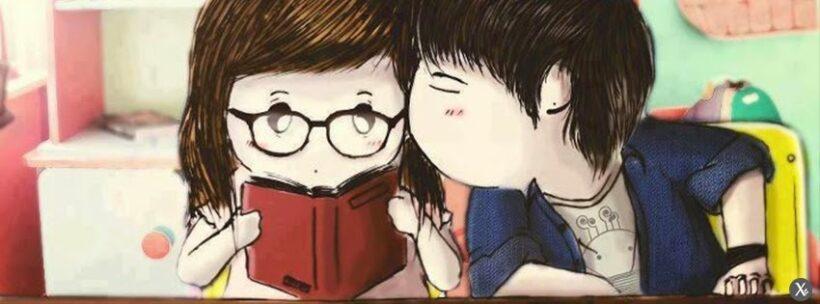 ảnh bìa fb cute về tình yêu