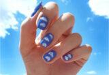 Các mẫu nail đám mây đẹp nhất