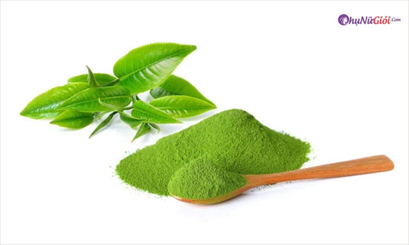 Cách làm bột trà xanh
