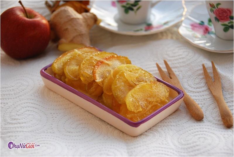 Cách làm mứt táo không sử dụng nước vôi trong