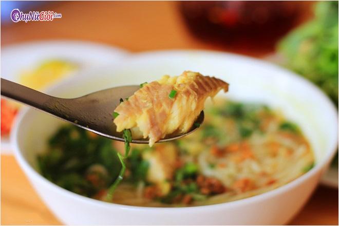 Cách nấu bún nước lèo cá lóc