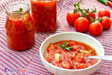 cách nấu canh cà chua không