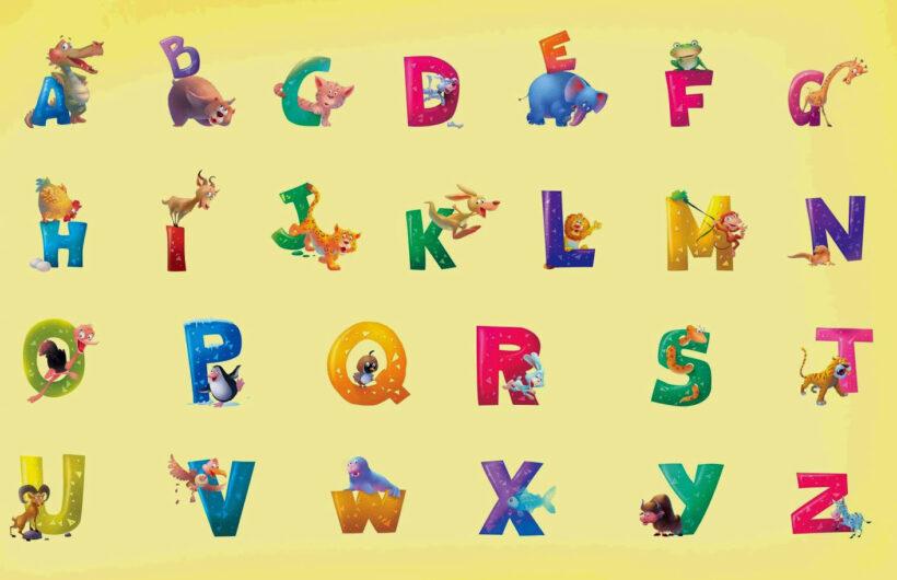 Hình ảnh bảng chữ cái tiếng Anh ngộ nghĩnh nhất