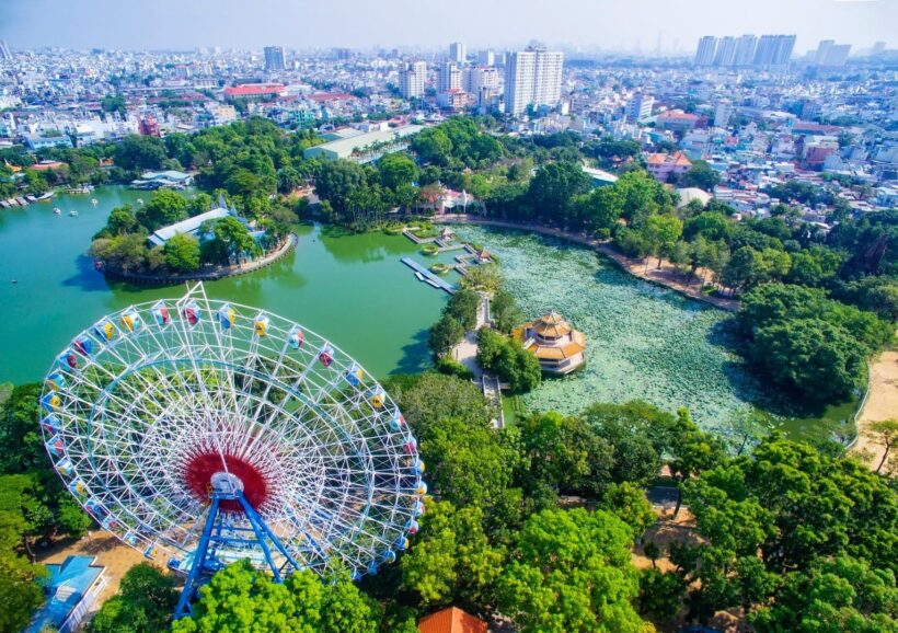 Hình ảnh nắng Sài Gòn đẹp