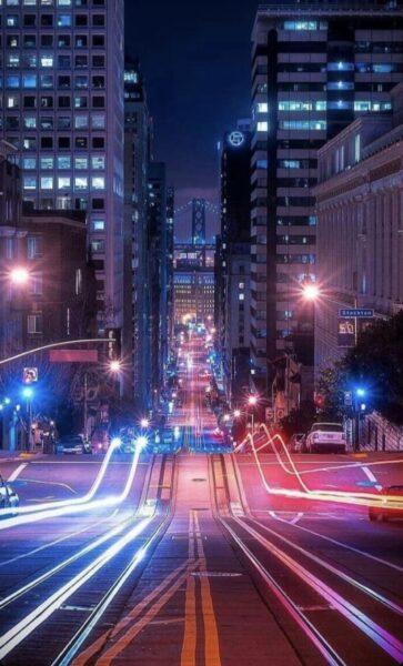 Hình ảnh Sài Gòn về đêm đẹp huyền diệu