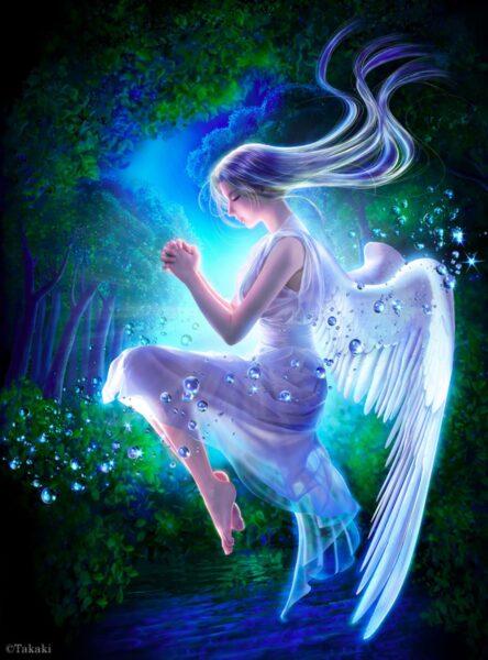 hình thiên thần đẹp lung linh