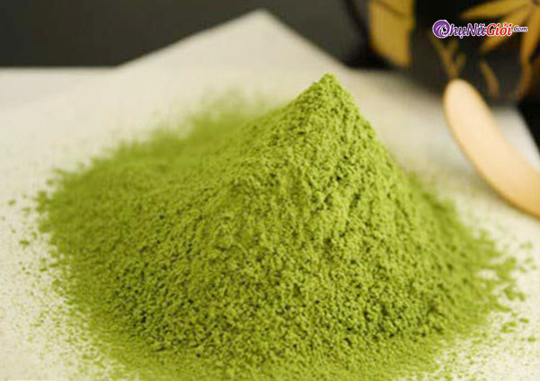 Hoàn thành Cách làm bột trà xanh từ lá trà phơi khô