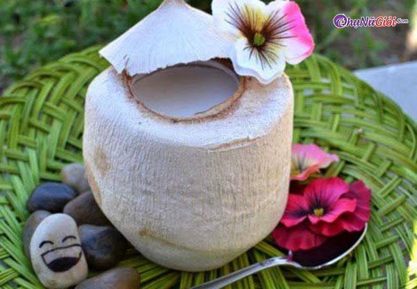 Hoàn thành thạch nước cốt dừa xiêm