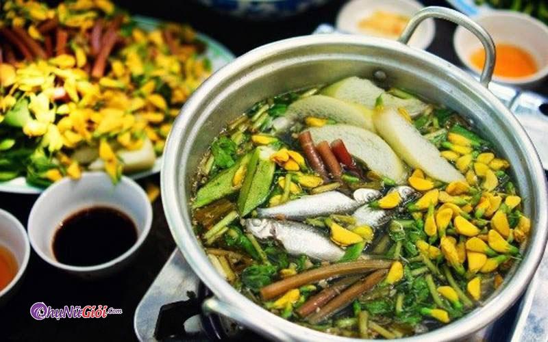Lẩu mắn Ninh Kiểu ở Hà Nội