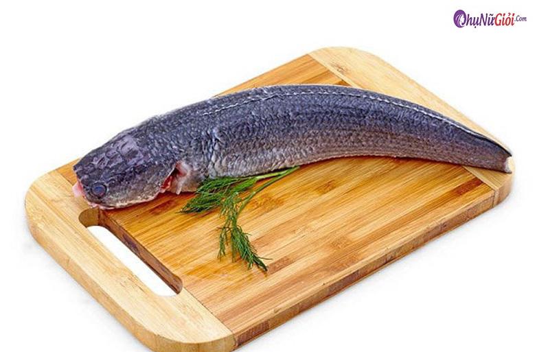 Sơ chế nấu bún nước lèo cá lóc
