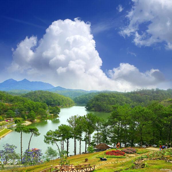 Cảnh đẹp thiên nhiên Dà Lạt