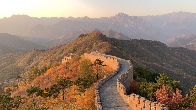 Hình ảnh Vạn Lý Trường Thành - công trình vĩ đại của Trung Hoa