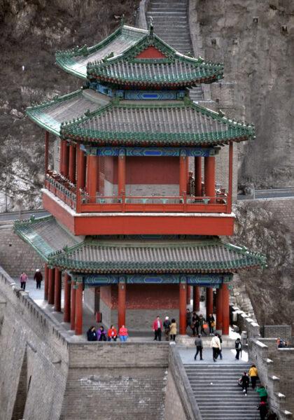 Hình ảnh những công trình cổ được xây dựng trong Vạn Lý Trường Thành
