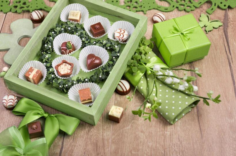 Hình ảnh socola ngọt ngào, lãng mạn cho ngày lễ Valentin