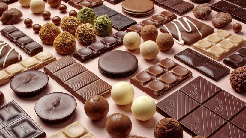 Hình ảnh socola với nhiều dạng khác nhau