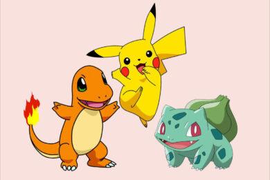 Hình vẽ Pokemon đơn giản, đẹp nhất