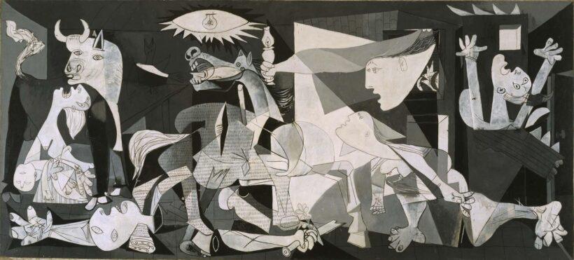 Bức tranh Guernica đẹp nổi tiếng thế giới